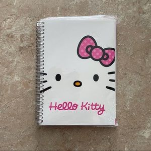 *FREE w/ Purchase* Brand New Hello Kitty Notebook